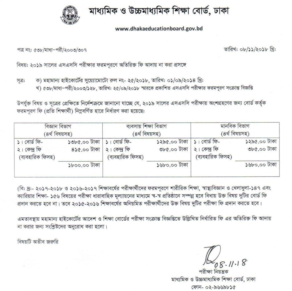ssc-2019 form fillup fee